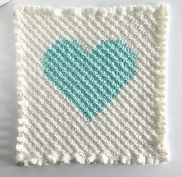 Corner To Corner Crochet Heart Daisy Farm Crafts