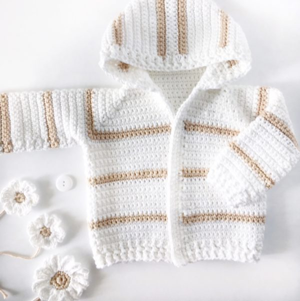 ea7fdabe679a Single Crochet Baby Sweater