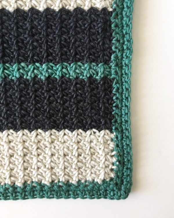 crochet spider stitch blanket