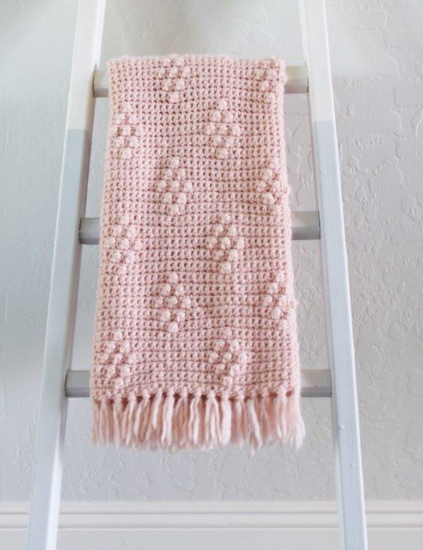 f55bf092c497 I hope you enjoy making this crochet diamond berry stitch blanket! After  you finish your project