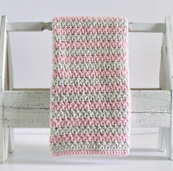 Mixed Cluster Baby Blanket - Daisy Farm Crafts free pattern