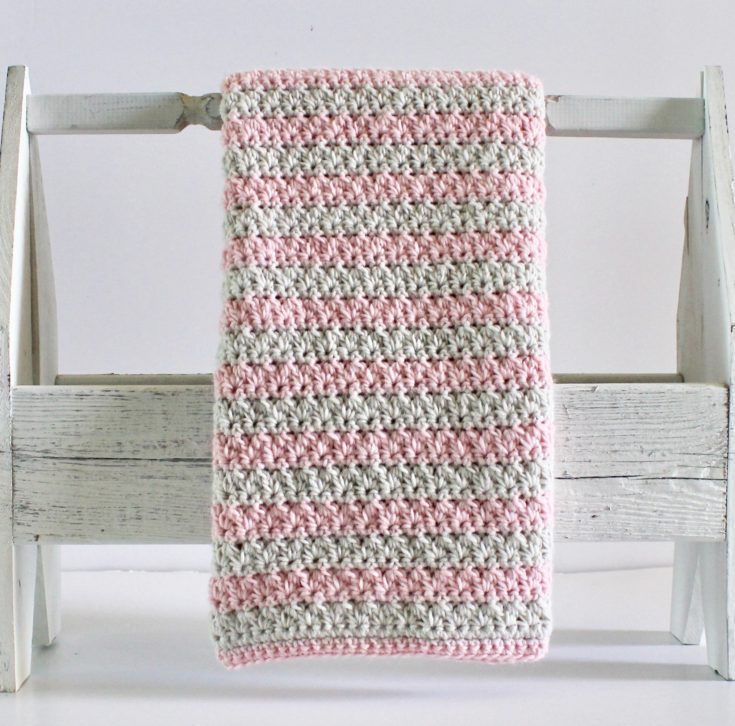 "KNITTING PATTERN EASY KNIT SEED STITCH//BASKETWEAVE AFGHAN//BLANKET 42/"" x 47/"""