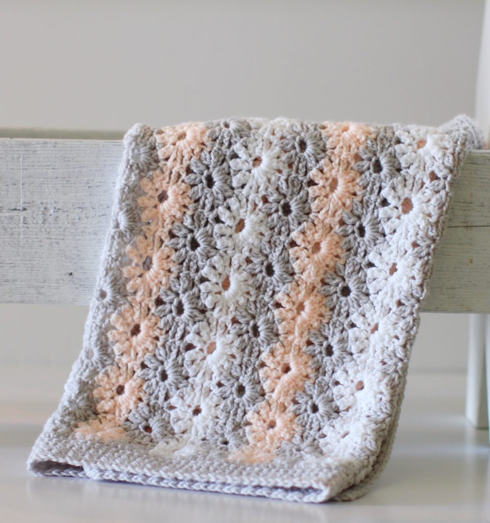 Crochet Petal Stitch Baby Blanket Daisy Farm Crafts