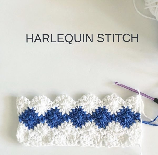 Crochet Harlequin Stitch Daisy Farm Crafts