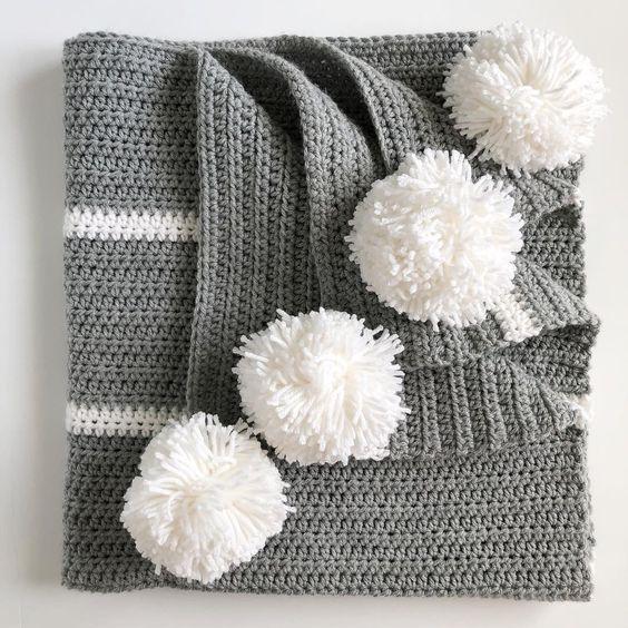 Crochet Magnolia Baby Blanket