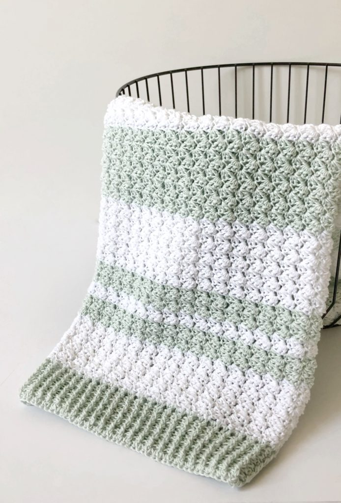 Crochet Sedge Stitch Baby Blanket Daisy Farm Crafts