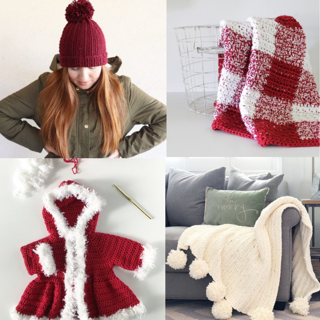 20 Free Crochet Patterns for Christmas