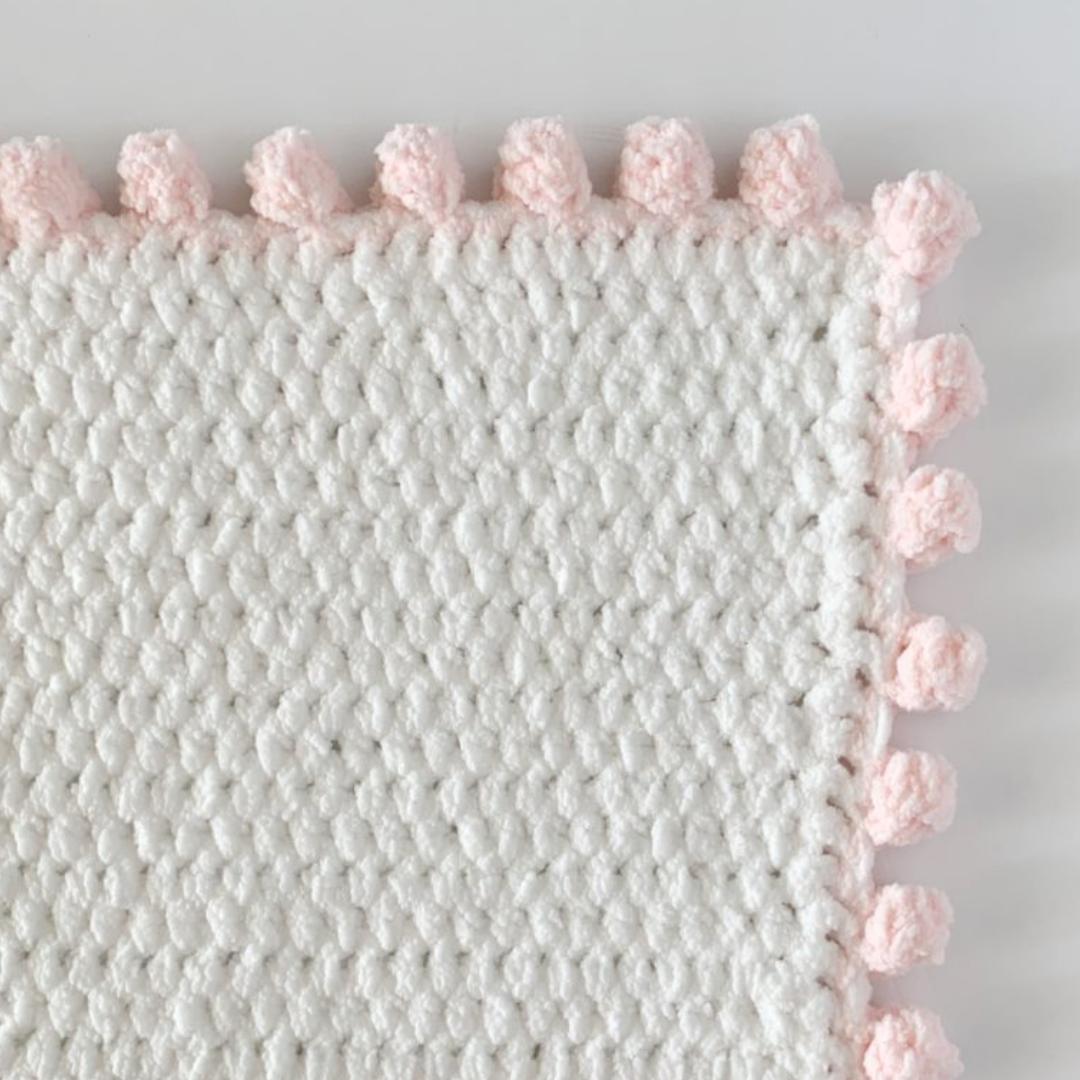 Crochet Dot Border Stitch Daisy Farm Crafts