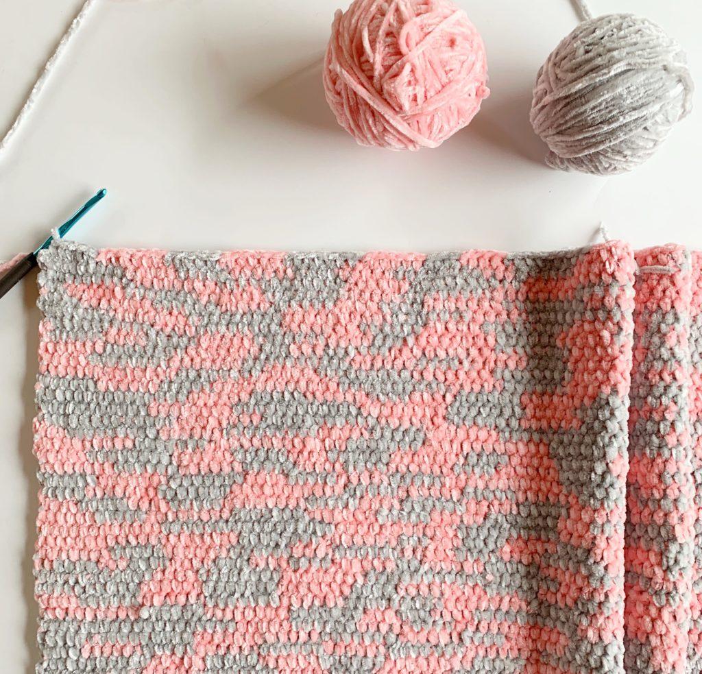 Improv Crochet Baby Blanket