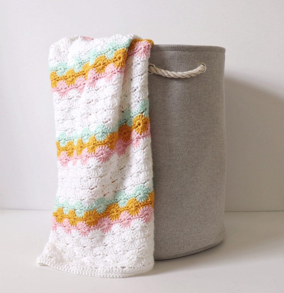 Classic Crochet Catherine's Wheel Blanket