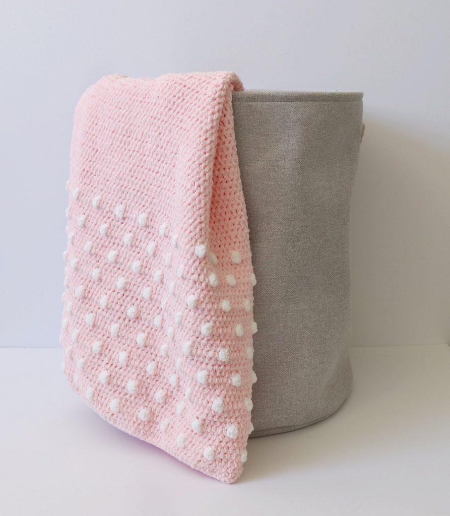 Crochet Polka Dot Ends Blanket