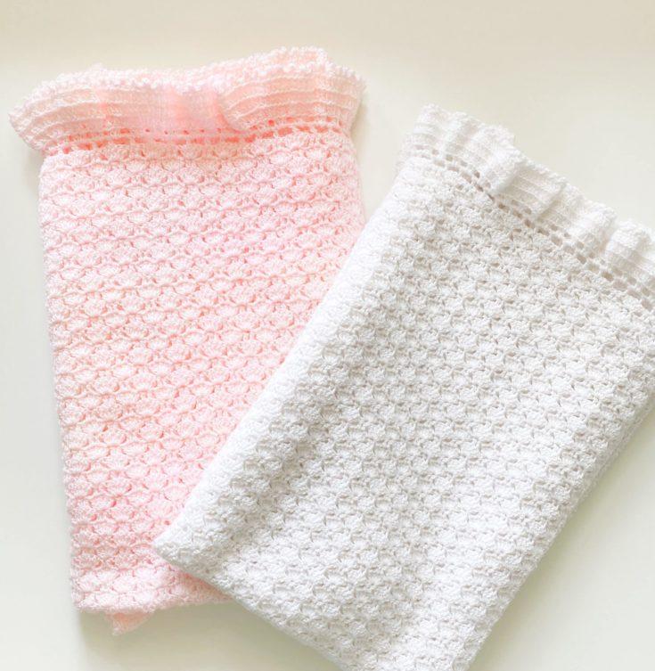 CJ's Shell Stitch Blanket